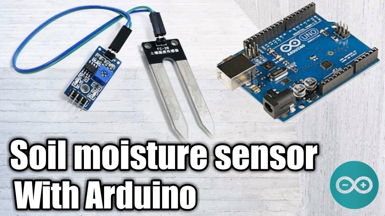 Soil Moisture Sensor With Arduino