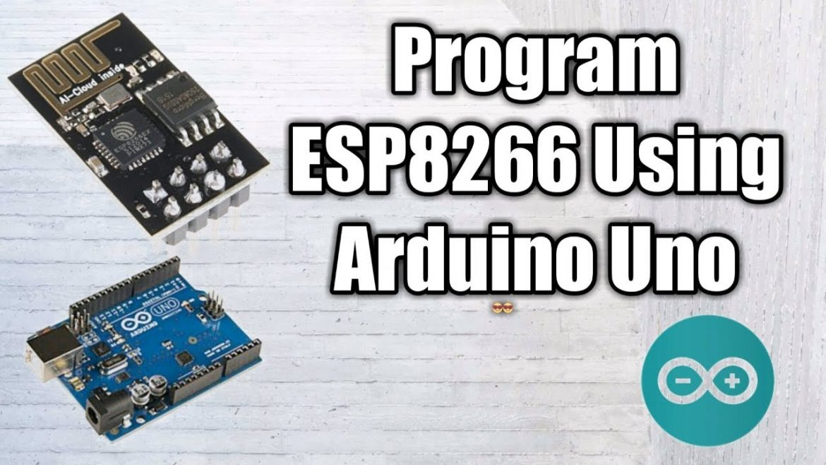 How to Program Esp8266 using Arduino uno.